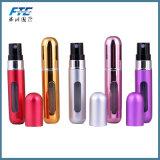 Portable 10ml Electroless Aluminum Spray Bottle for Oil Perfume