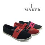 Estilo popular zapatos de lona ocasionales para las mujeres (JM2050-L)