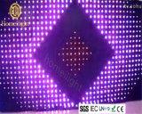 Свадебная дискотека этап эффект P12 3 X 4m светодиодный RGB видео шторки