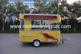 Цветастый подгонянный передвижной малый трейлер еды для быстро-приготовленное питания