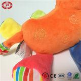 자유로운 다리 연약한 다채로운 매력 견면 벨벳에 의하여 채워지는 사자 장난감