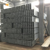 JIS G 3466 plaza de cuerpos huecos de acero tubo galvanizado
