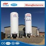 Tanque de vácuo líquido inoxidável do tanque de armazenamento do tanque de aço do Lar criogênico vertical do tanque Lo2 Ln2