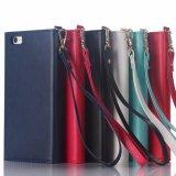 Umschlag-Leder-Kippen-Buch-Telefon-Kasten für iPhone 6 6plus