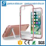 iPhone Seのための高精細度の透過携帯電話の箱