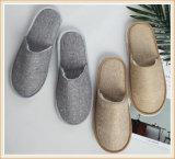 La línea de poliéster Hotel EVA desechables zapatillas