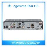 인터넷 텔레비젼 상자 인공 위성 수신 장치 DVB S2 DVB T2 Zgemma 별 H2