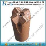 bit Drilling do hard rock da cruz da linha de 45mm 51mm 60mm 64mm 76mm