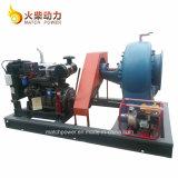 고능률 높은 교류 디젤 엔진 수도 펌프는 50 Kw에 의하여 섞인 교류 펌프를 놓았다