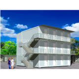 Prefabricated 가벼운 강철 쌓을수 있는 콘테이너 집