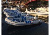 Шлюпка Aqualand 14feet 4.3m складная воинская раздувная/резиновый шлюпка мотора/рыбацкая лодка спортов (aql425)