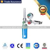 Cilindro de oxigênio quente do aço sem emenda da venda com medidor de fluxo e humidificador do oxigênio