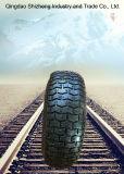 6.50-8 Pneu et roue en caoutchouc de pneu de Handtruck de pneu de brouette