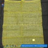 パッキングポテトのための45*75黄色いRaschelの袋