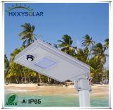 6W einteiliges Solarlicht der straßen-LED mit PIR Fühler