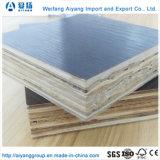 Bambú pegamento fenólico de 28 mm de núcleo de madera pisos de madera contrachapada de contenedores