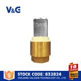 Válvulas de pie de latón con pantalla de filtro (VG12.90031)