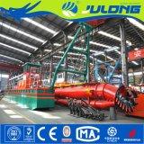 Julong ISO/Ce aprovou a draga da sução do cortador de 10 polegadas/draga da areia