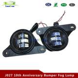 10mo Aniversario parachoques de la lámpara de niebla para Jeep Wrangler Jk