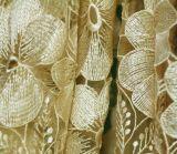 Fios de leite Flor de rosca de ouro as rendas de química para vestir