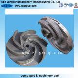 投資鋳造カーボン/Stainlessの鋼鉄開いたポンプインペラー