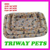 개와 고양이 (WY1610114-5A/C)를 위한 싼 부드러움과 안락 산호 우단 침대