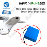 Réverbère solaire avec le panneau actionné solaire de DEL