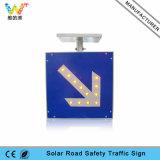 Van de LEIDENE van de Verkeersveiligheid Raad de Opvlammende ZonneVerkeersteken van de Waarschuwing