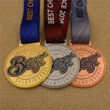 리본 메뉴를 사용한 맞춤형 Best 치어업계 챔피언십 스포츠 메달은