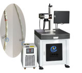기계 Laser 표하기 기계를 인쇄하는 5W 세라믹 플라스틱 UV Laser