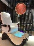 Moderne luxe massage SPA stoelen Manicure Bank voet Bowl Sink Throne Nail Salon Table Plumbing Pedicure stoel