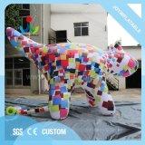 Caricature colorés Inflatable Modèle animal pour la promotion de la publicité extérieure