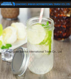 350ml de Fles van de Metselaar van het Glas van het Fruit van de Melk van de Drank van het Patroon van de diamant