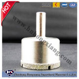 Galvanoplastica Diamond Drill Bit per Glass, Porcelain, Granite, Marble