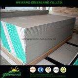 Panneau de gypse imperméable à l'eau / panneau de gypse résistant à Moisure / planche de plâtre standard