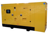 Ce/Soncap/CIQの承認のWeifangエンジンR6105azldを搭載する135kVA無声ディーゼル発電機