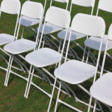 Sillas de plástico apilables baratas silla plegable