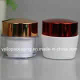 Gute Qualitätskosmetik-Behälter-kosmetisches Glas-Plastikglas 50ml