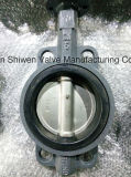 Cast Iron Ss304 Disc EPDM Seat Butterfly Valve with Gear