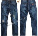 Los hombres Jeans suelto y recto Denim Jeans