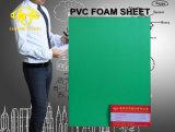 Feuille de mousse PVC vert pour l'antisepsie Projet 6-20mm
