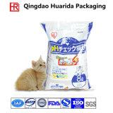 Impression couleur classique 5L verticale Sacs en plastique pour litière pour chat