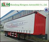 2 Axle Van Type Enclosed Aanhangwagen van de Doos van de Aanhangwagen van de Tractor van de Lading de Semi
