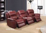 6 Seater Sofa Set con Recliner para la sala de estar
