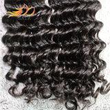 人間の毛髪の拡張、Remyの毛の織り方、100%年のバージンのブラジル人の毛