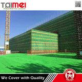 Aufbau-Gebäude-Baugerüst-Schutz-Sicherheitsnetze