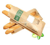 Bolsa de papel impermeable a la grasa del embalaje del pan del alimento Burger King