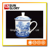 De Kop van China van het been met Doos Cover&Gift van GB015