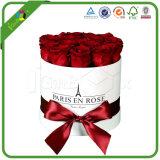 Flor de papel de lujo de embalaje Caja de regalo para San Valentín