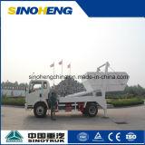 Sinotruk 4X2 그네 팔 쓰레기 트럭 건너뜀 로더 8cbm (5 톤)